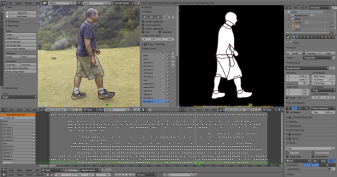 Rotoscoping in Blender