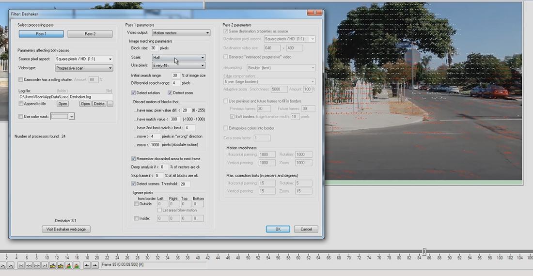 Deshaker In Virtualdub Openvisual Fx
