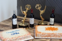 Cake, wine, and Emmys!