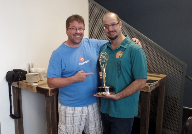 VFX Supervisor Paul Ghezzo and myself