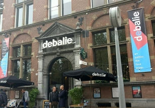 DeBalie, where the conference is held